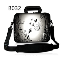 "Silver Butterfly 10"" 10.1"" Netbook Tablet PC Laptop Shoulder Sleeve Bag Case Handbag For ipad Air pro(China)"