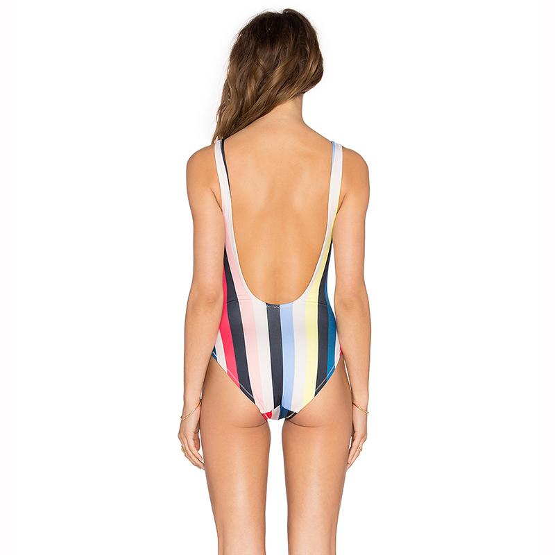 Multicolor One-Piece Suits Swimwear Bikinis Set 13