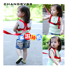 Lovely Angel Wings Baby Harness,Baby Safety Walking Belt,Kids Keeper Toddler Walker Strap Baby Safety Handle Walking Assistant(China)
