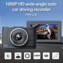 Rhythm Full HD 1080P Dash cam Car DVR Camera Video Recorder Camera 170 Degree Wide Angle with Parking Monitor(China)