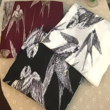Ladies Swallow Bird Print Infinity Scarf Snood Women's Loop Party Event Accessories Gift for Her Hot Sell