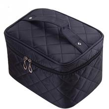 Fashion Cosmetic box women large capacity storage handbag travel toiletry makeup bag