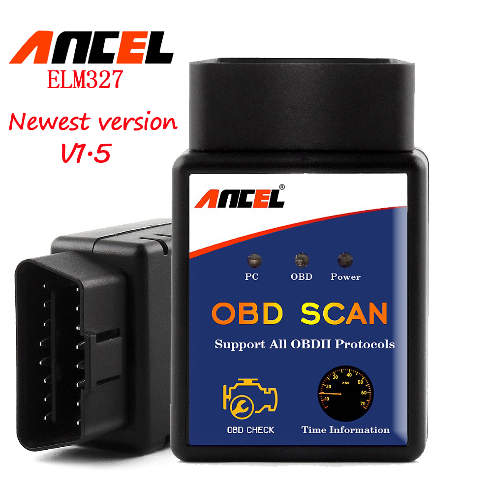 Elm327 bluetooth obdii scanner newly wireless scan tool for multi-brands