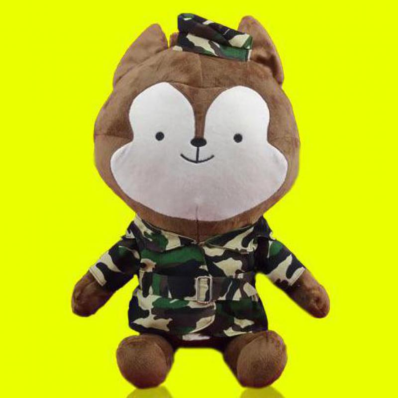 Popular TV 30cm Korean Descendants Of The Sun Wolf &amp; Rabbit Plush Soft Doll Animal Stuffed Toy For Baby Kids Lover Birthday Gift<br><br>Aliexpress