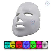 7  Color LED light therapy Facial Mask  Red Blue Green mixed color  Led skin rejuvenation Facial Mask