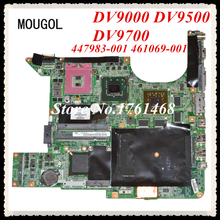 MOUGOL 447983-001 461069-001 mainboard fit For HP DV9000 DV9500 DV9700 Laptop motherboard Discrete graphics 100% Tested(China)