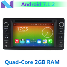2GB RAM Android 7.1.2 Quad Core Car DVD Player For Mitsubishi Outlander Lancer Asx 2012 2013 2014 2015 GPS Navigation Radio BT(China)