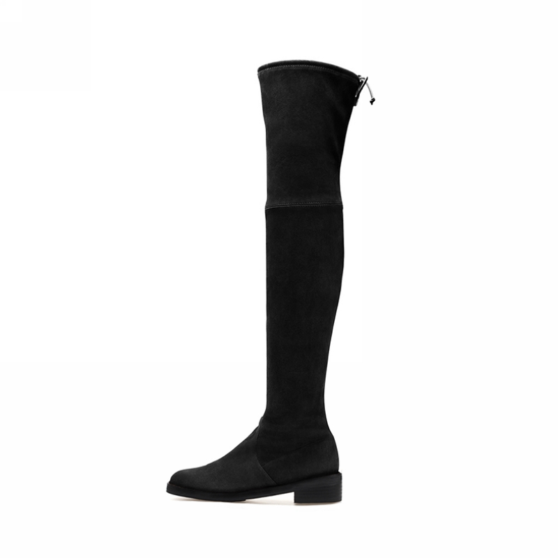 2017 women thigh high boots over the knee boots for women warm winter and autumn woman shoes botas mujer femininas<br><br>Aliexpress