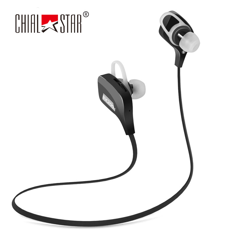 Noiseless Wired Earphones Bluetooth 4.1 Sport Headphones Running HIFI Stereo Earbuds Hands-free Headsets with Mic<br><br>Aliexpress