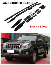 For Toyota Land Cruiser PRADO FJ150 2010.2011.2012.2013 Auto Roof Racks Luggage Rack High Quality Aluminium Car Accessories