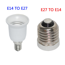 High quality LED E27 to E14 Base LED Adapter E14 to E27 Socket Light Bulb Lamp Holder Converter material Free Shipping