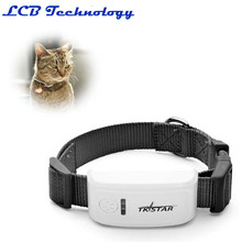 Popular Mini Pet Tracker With Collar GSM/GPRS Positioning Real Time GPS Tracker Dog Pet TK909 LK909(China)