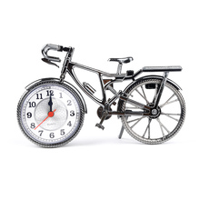 Hot Selling NEW Fashion Stylish Bike Shape Alarm Clock For Children Kids Bicycle Alarm Clock Home Art Decoration Best Gift(China)