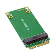 CY 3x5cm mSATA to 3x7cm Mini PCI-e SATA SSD Adapter for Asus Eee PC 1000 S101 900 900A 901 T91