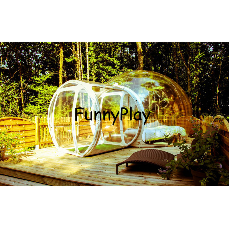 inflatable bubble tree tent2