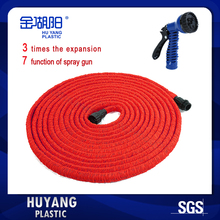 Free Shipping 25FT-200FT Mangureia Expanding Flexible Red Garden Water Hose Pipe for Car Wash/Watering Flowers/Garden Irrigation