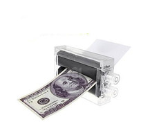 3pcs/lot Money Printer, Printing Machine Print Money Plastic - Trick,Accessories,stage magic props,close up/mentalism,comedy