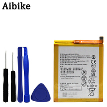 Aibike New original mobile phone battery HB366481ECW 3000mAh For Huawei P9 G9 Lite G9 Honor 8/5c Battery Replacement