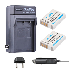 2pc DuraPro NP-95 NP 95 NP95 Li-ion Battery+ Car Charger For FUJIFILM F30 F31 F30fd F31fd 3D W1 X100T X100S X100 X-S1 3DW1 XS1(China)