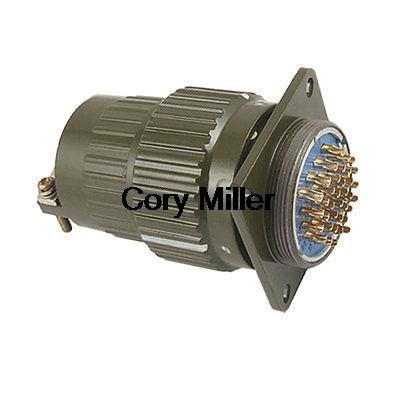 Army Grn Metal Shell 36 Pins Circular Connector AC 300V<br><br>Aliexpress