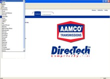 2006 version Mitchell AAMCO Directech Transmission Manual and Automatic Transmission Car Software