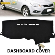 Xukey Fit For 2005-2007 2008 2009 2010 2011 Ford Focus 2 MK2 LHD Dashboard Cover Dashmat Dash Mat Pad Sun Shade Dash Board Cover(China)