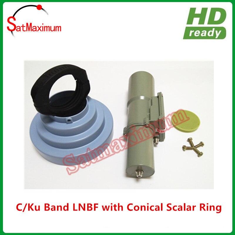 Универсальный Диапазон Ku диапазон C 5150 МГц LNBF combo C/Ku LNB интегрированный