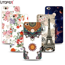 For Xiaomi Redmi 4X Case Coque Earth Universal Space Pattern Cover For Redmi 4x Pro Original Brand Flower Soft Plastic Case