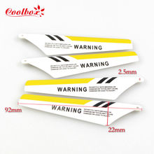 SYMA 4pcs/set S107G RC Helicopter toys accessories S107C Main Blade Prolellers Spare Parts