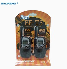 NEW Baofeng Mini Walkie Talkie Kids With UHF 462.5625-467.7250mhz 22CH Up To 3km Transceiver Radio Children Handheld Interphone