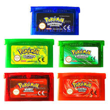 Nintendo GBA Game Spanish Language Pokemon Series Video Game Cartridge Console Card