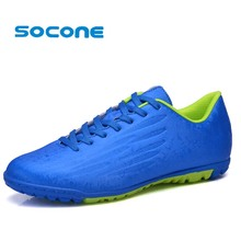Socone New Arrival TF Football Boots For Men Male Outdoor Athletic Sport Sneakers Soccer Cleat  Boys/kids chuteira futebol