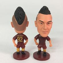 Soccerwe dolls figurine football stars Roma #92 El Shaarawy Movable joints resin model toy action figure dolls collectible gift