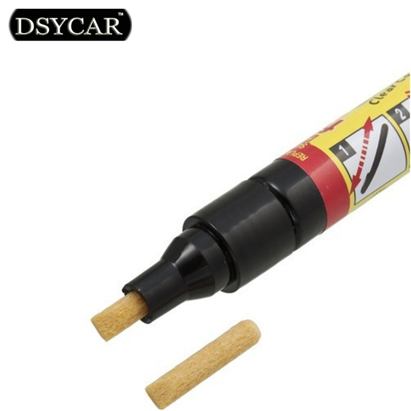 DSYCAR 1pcs Non Toxic Car Clear Coat Applicator Fix It Pro Car Scratch Repair Remover Pen Car styling for BMW Fiat VW Honda Ford(China (Mainland))