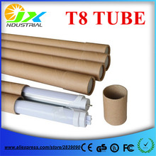 LED T8 tube 600mm 10Pcs/lot LED Tube 600mm T8 10W Light Lamp SMD2835 led tube lamp 85-265V Aluminum+PC(China)