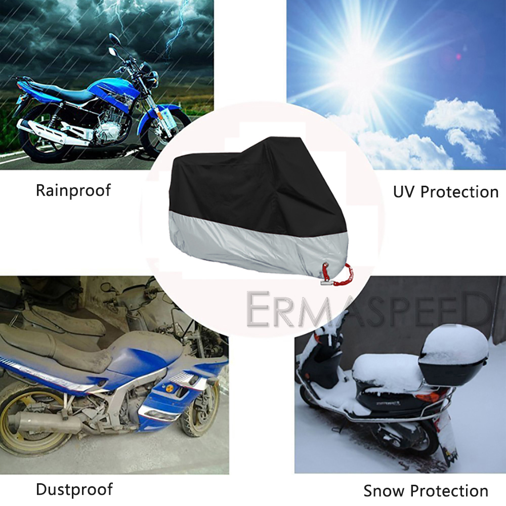 motorcycle scooter rain antidust cover (6)