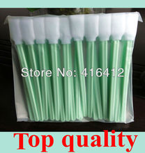 500 pcs Foam Cleaning Swabs for Thermal Print heads Zebra Magicard Evolis Card Printer Cleaning Swabs Kits