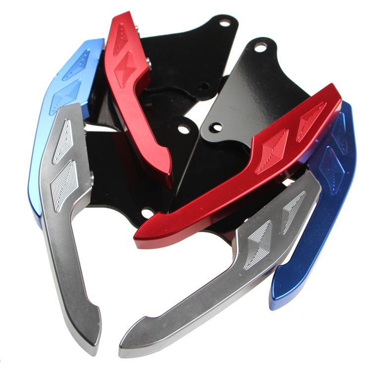 Motorcycle Rear Tail Grab Handrail Armrest Rails Cnc Aluminum Alloy For Honda Msx125 Thailand(hole To Hole 92mm)<br>