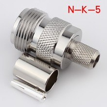 N-K-5 Female N-type Rf coaxial connector N type connector 5pcs/lot