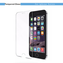 9H Tempered Glass Case For iPhone 7 Cases 6 7 Plus 5 5S Screen Protector Protective Case Cover For iPhone 6 Case 6s Plus Film
