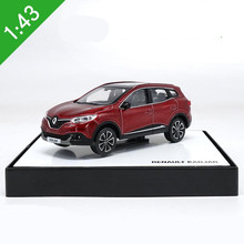 Original 1:43 alloy car toys, high simulation RENAULT KADJAR SUV car model, metal castings,collection toy vehicles,free shipping