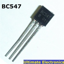 50pcs BC547 45V 0.1A TO-92 NPN Transistor(China)