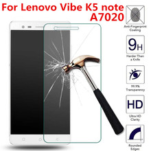 Buy Lenovo Vibe K5 Note A7020 K52t38 A7020a40 A7020a48 k52e78 k5note 5.5inch Tempered Glass Screen Protector 2.5D HD Film Case for $1.77 in AliExpress store