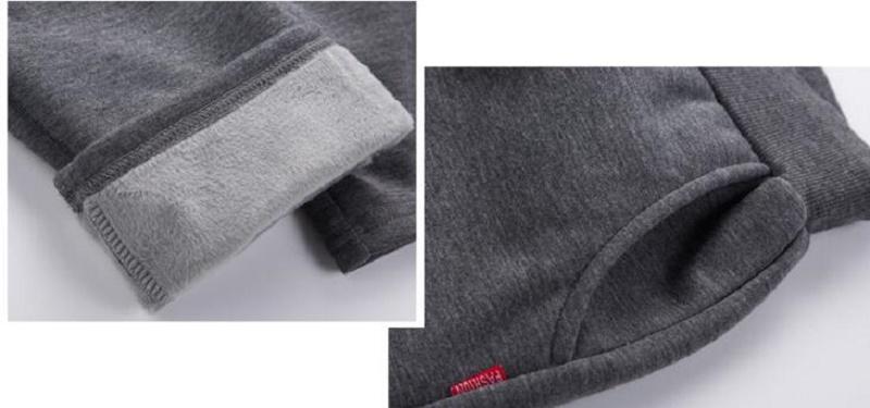 Uwback 17 Plus Size 4XL New Sweat Pants Men Joggers Pants Elastic Waist Loose Sweat Pants For Men Casual Trousers homme CAA329 19