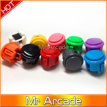 SANWA Type Push Button Jamma Arcade Switch Buttons High Quality Durable Game Machine Push Button(China)