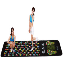 Medialbranch Colorful Plastic Foot Massager Pad Acupuncture Cobblestone Yoga Mat  175*35cm (Masajeador de pies Masajeador de )