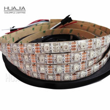 1M/2M/5M WS2812B 5V RGB Addressable LED Strip Black&White PCB 30/60/144 leds/m 2811 IC Built-in 5050LED IP30/IP65/IP67 Pixels(Hong Kong,China)