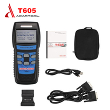 Excellent Performance Memoscan T605 for TOYOTA/LEXUS Cars OBD2 Fault Code Reader T605 OBD2 code reader dhl free shipping(China)