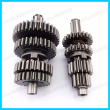 YX110 125 Transmission Super Gear Box Main Counter Shaft For 110cc 125cc YX Pit Dirt Bikes Motorcycles(China)