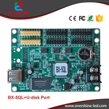 BX-5QL asynchronous RGB Full color 16K pixels LED Panel Screen Control Card With USB port Support P3,P4,P5,P6,P7.62,P8,P10,P16
